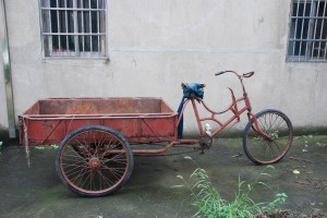 Old Bicycle Cart
