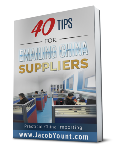 40 Random Tips for Emailing China Suppliers